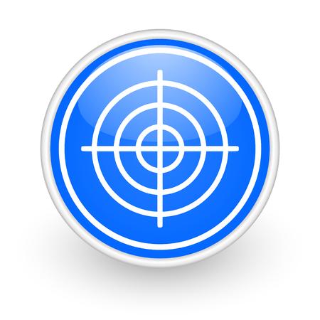 validate: blue circle web button