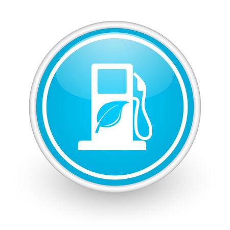 canola: blue web button Stock Photo