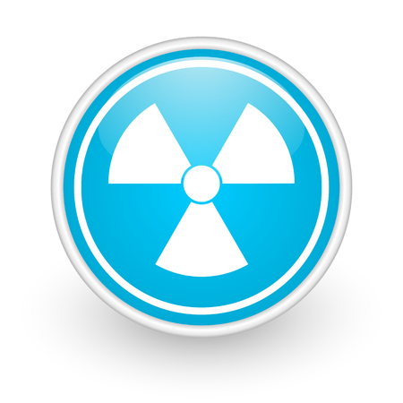 blue web button photo