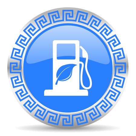 canola: blue circle web button