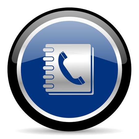 blue web button Zdjęcie Seryjne