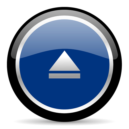 blue web button Stock Photo - 26087791