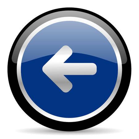 blue web button Stock Photo