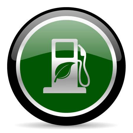 canola: green web button Stock Photo