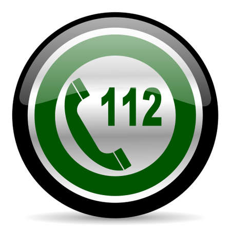 green web button photo