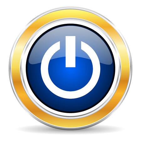 running off: blue circle buttons