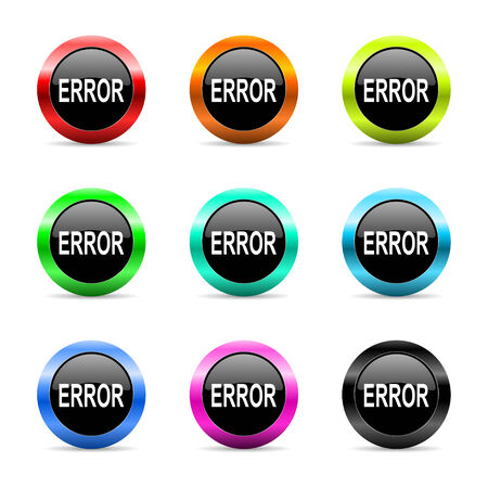 web buttons set on white background Stock Photo - 26779777