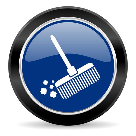 blue circle web button Stock Photo - 27134647