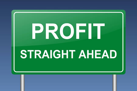 profit ahead photo