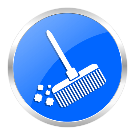 blue web icon isolated Stock Photo - 27259537