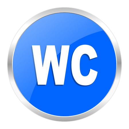 blue web icon isolated Stock Photo - 27259400