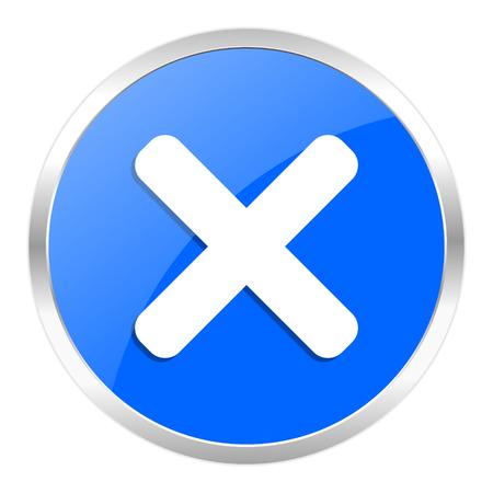 blue web icon isolated Stock Photo - 27259330