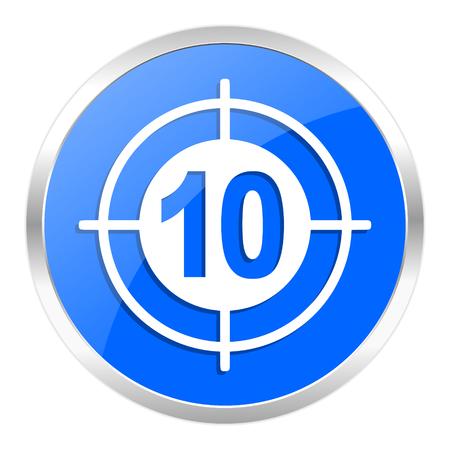 blue web icon isolated Stock Photo - 27259235