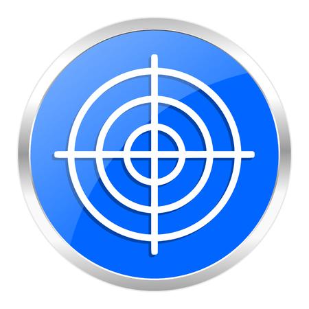 blue web icon isolated Stock Photo - 27259241