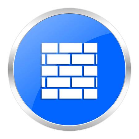blue web icon isolated photo