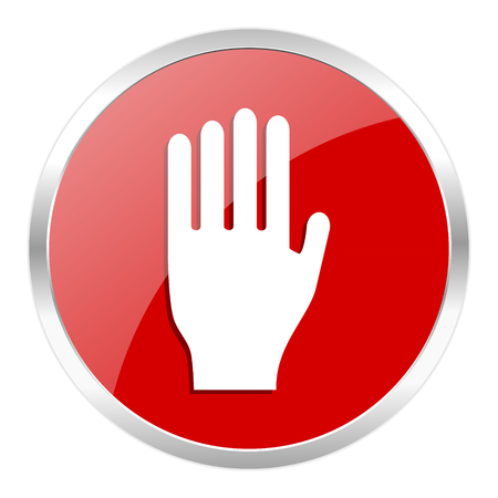 red web button isolated Stock Photo - 27369133