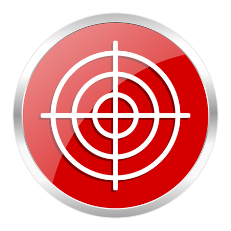 red web button isolated Stock Photo - 27369298