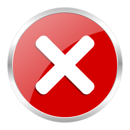 red web button isolated Stock Photo - 27369449