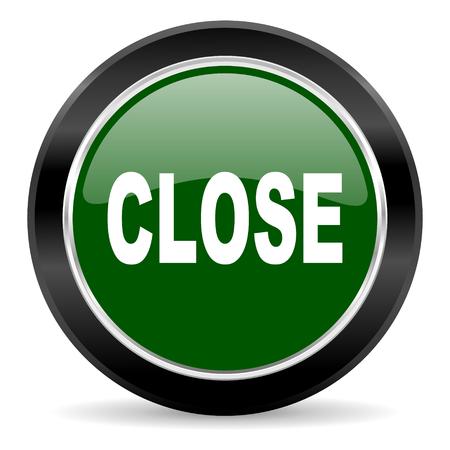 green glossy web button Stock Photo - 27369939