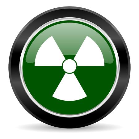 green glossy web button photo
