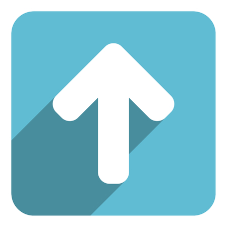 north arrow: arrow up icon Stock Photo
