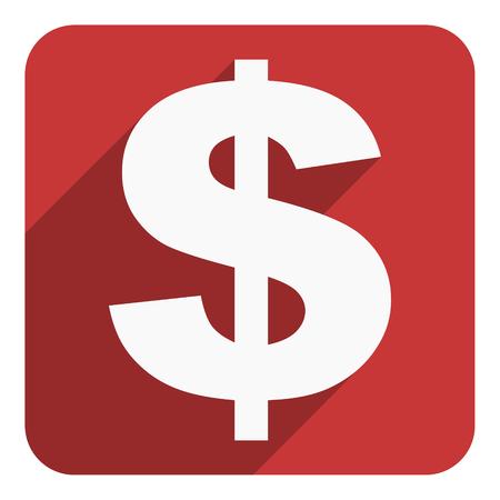 us dollar: us dollar icon Stock Photo