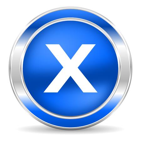 cancel icon Stock Photo - 27435297