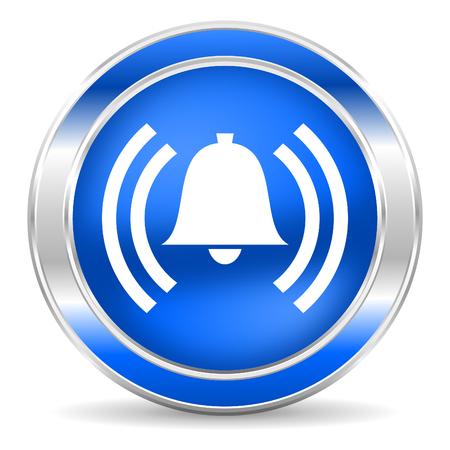 morning blue hour: alarm icon