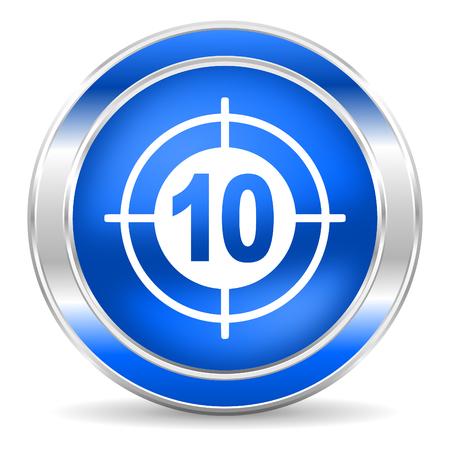 target icon Stock Photo - 27435232