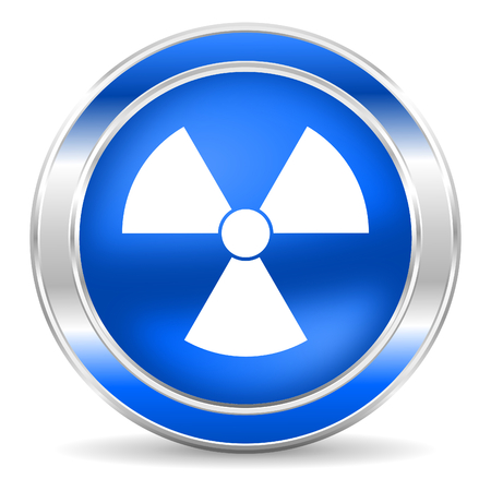 radiation icon  photo