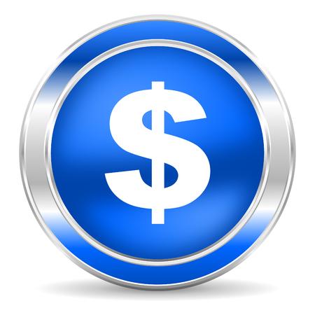 dollar icon: dollar icon  Stock Photo