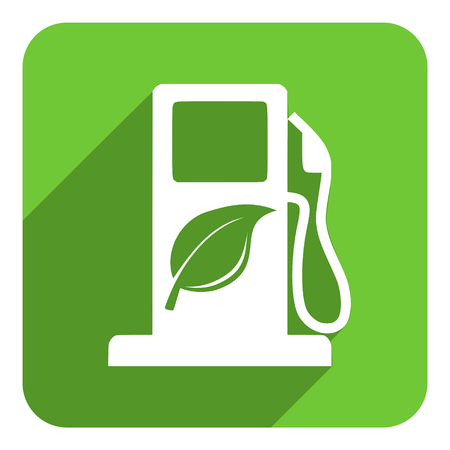 bio fuel: icono de biocombustible