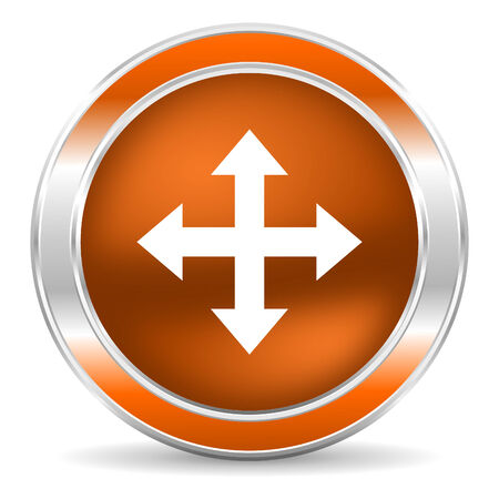 sterring: web glossy icon Stock Photo
