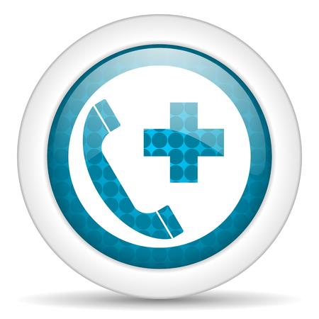 blue web glossy icon photo