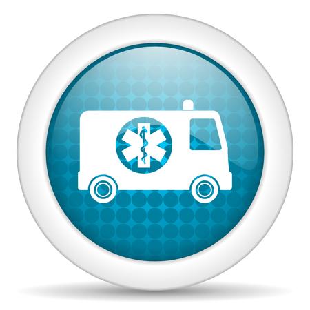 icon glossy: web icona blu lucido