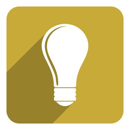 bulb icon: bulb icon Stock Photo