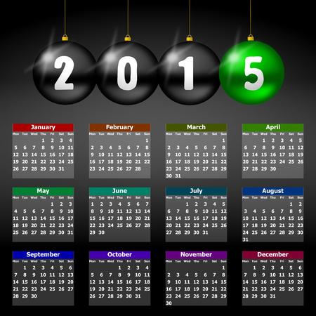 mondays:  calendar 2015 monday firts