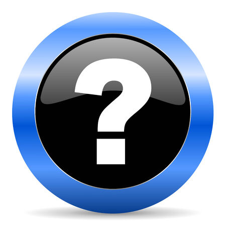 blue circle glossy web icon photo