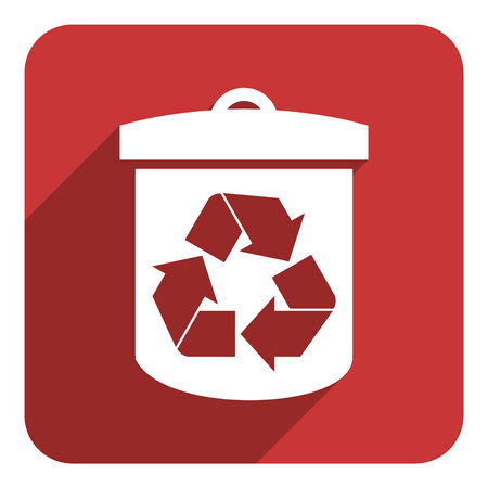 recycling flat icon photo