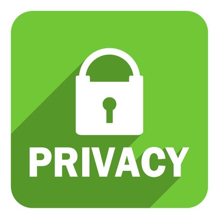 privacy flat icon photo