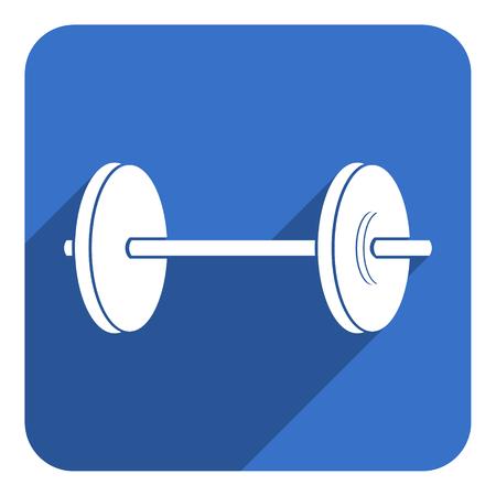 gym flat icon photo