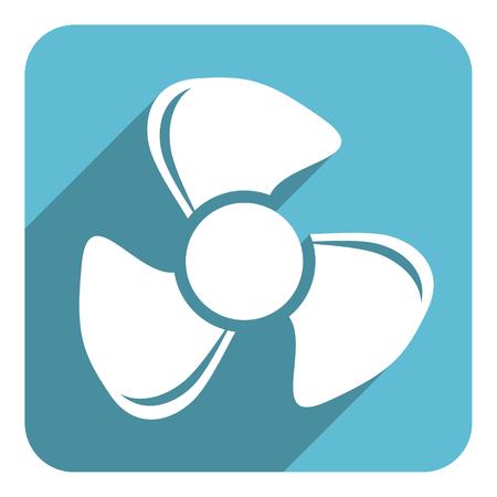 airflow: fan flat icon