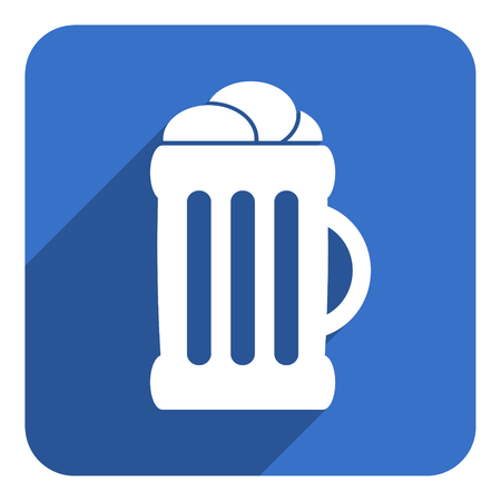 cereal bar: beer flat icon