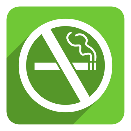 no smoking flat icon photo