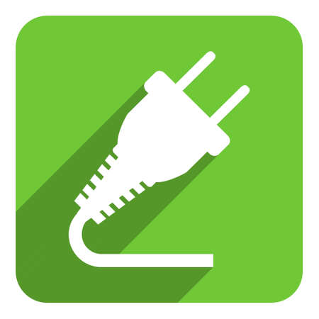 electricity flat icon photo