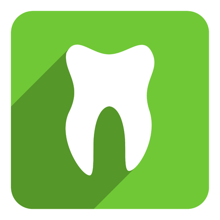tooth flat icon photo