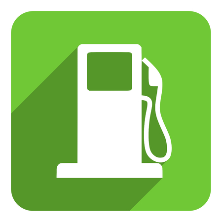gas station flat icon photo