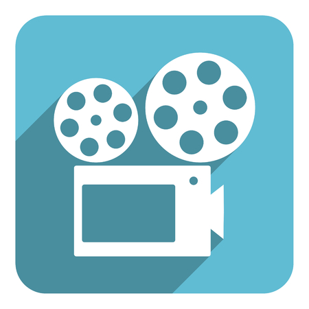 cinema flat icon photo