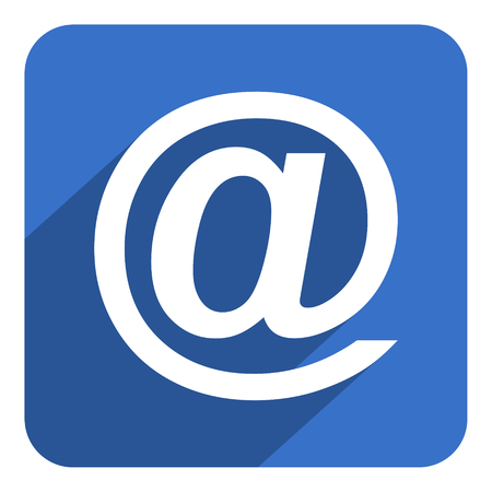 email flat icon photo