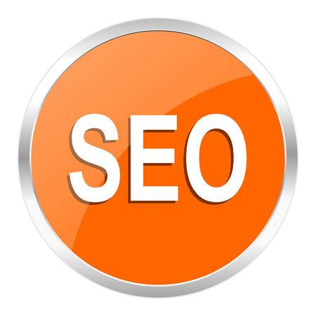 orange web button Stock Photo - 28158775